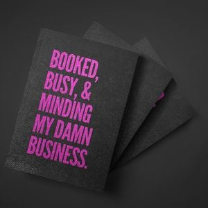 🆕 Booked,  Busy and Minding My Business Journal